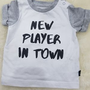 Other - Mini heros baby boys short leave t shirts 3 months